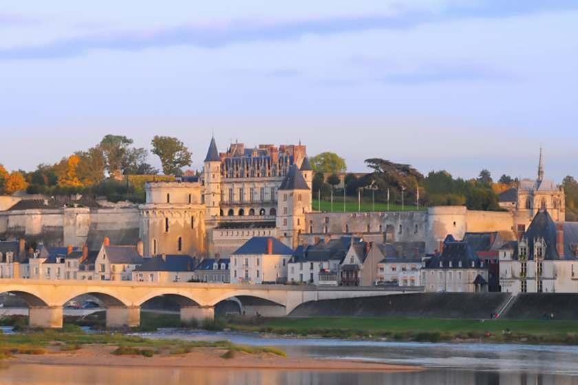 昂布瓦斯城堡 chateau-damboise