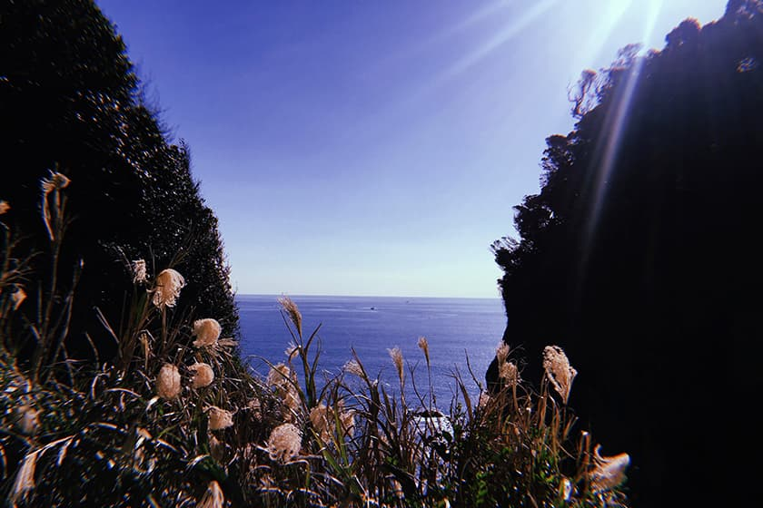 江之島 江之島岩屋& 稚兒之淵 ,海風、潮聲、夕景如夢
