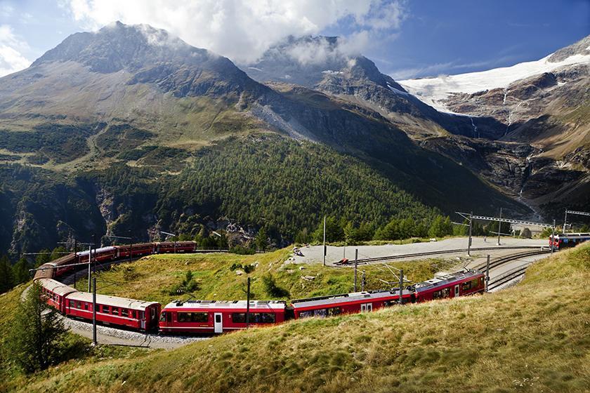 瑞士冰河列車 glacier_express