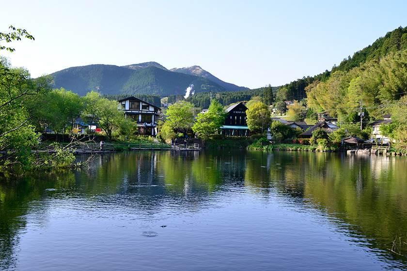 湯布院 金鱗湖 lake_kinrin