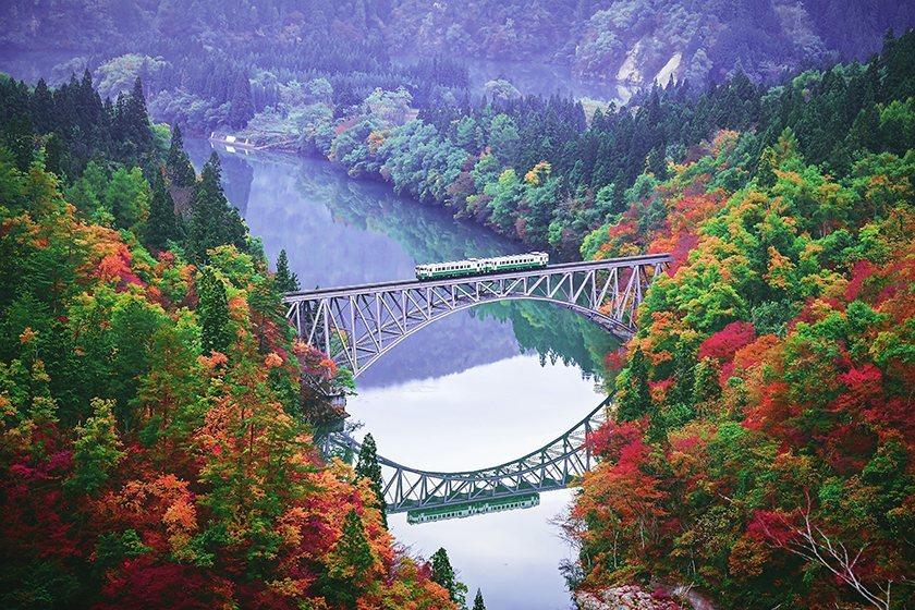奧會津 最美鐵道 只見線 okuaizu_tadamisen