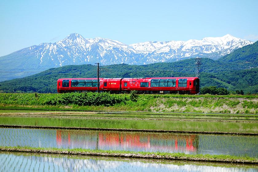 setsugekka 新潟 雪月花列車